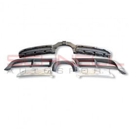 981 GT4 Rear Diffuser Set