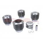 Set of Replacement Pistons and Cylinders for 356SC and 912