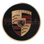 Hubcap Crest - Gold Enamel