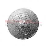 Hubcap Crest - Chrome