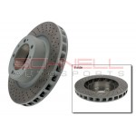 Front Brake Disc, Right, 911 Turbo (1991-1992)