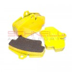 Pagid RS 29 Front Brake Pad Set (Yellow) - 997/986/987