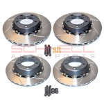 *Girodisc Front/Rear 4-piece Rotor Upgrade for 981 Boxster S/Cayman S