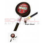 Longacre Digital Tire Gauge Backlit 0-60 PSI to 1/10 W/ Angle Chuck & Case