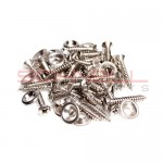 356 Stainless Door Panel Screw/Washer Set