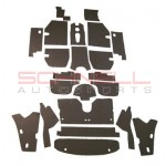 356B T5 Cabriolet Interior Body Insulation Kit