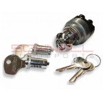 Bullet-Style Ignition Switch with 2 Keys for 356B and 356C