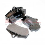Brake Pad Set - Rear - Pagid RS 14 (Black) - 996/997/986/987/981