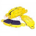 Brake Pad Set - Front - Pagid RS 29 (Yellow) - 997 3.6C/C4 / 991 3.4 / 981 S