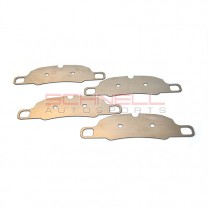 Titanium Brake Shim Set - Front (981/991/997/987)