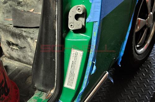 Schnell Autosports 911 VIN Decal - Driver's Door Jamb (69-71